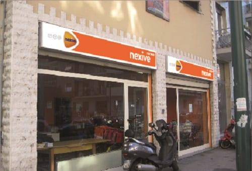 foto manipulatie locatie Nexive Italie