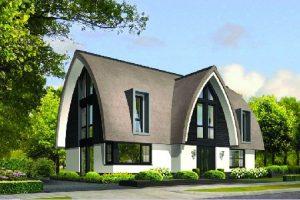 Lichtenberg: Nieuw villatype Architectuurwonen